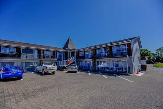 Timaru, Nuova Zelanda: Standard rooms and car park