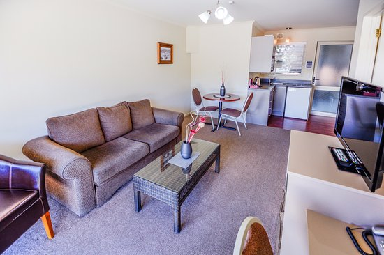 Timaru, Nuova Zelanda: Luxury one bedroom lounge