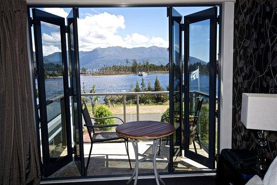 Moana, Nueva Zelanda: View from balcony
