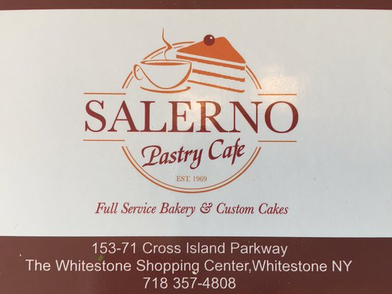 Whitestone, NY: S cookies are huge at Salerno bakery
