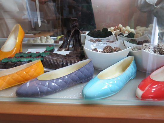 Kettering, Australien: Chocolate shoes