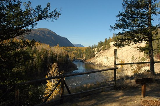 Kimberley, Canadá: Check out the stunning view from our River View Sites!