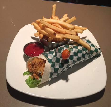 Olds, Kanada: Chicken Caesar Wrap