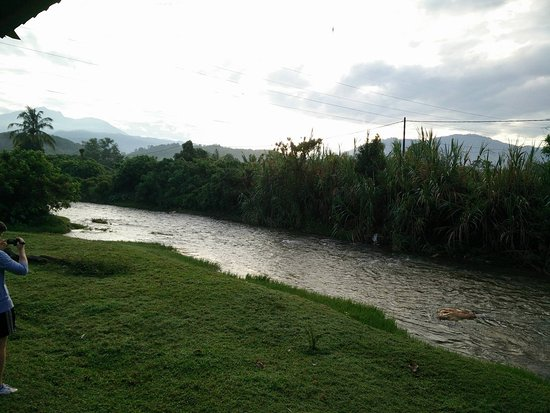 Perak, Malaysia: Side of River (on The Roots grounds)
