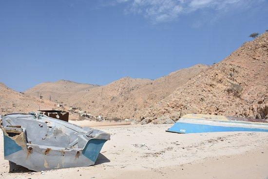 دبا البيعة, عمان: Island