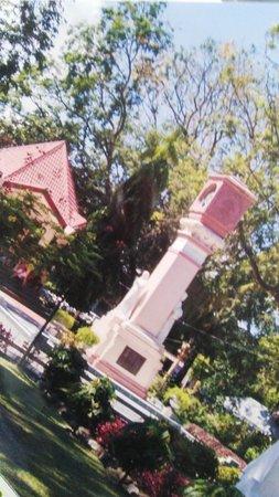 Quezon Park: some markers seen