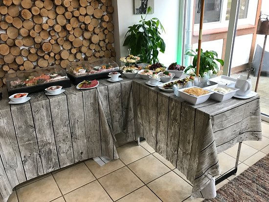 Hollern, Germany: Frühstücksbuffet