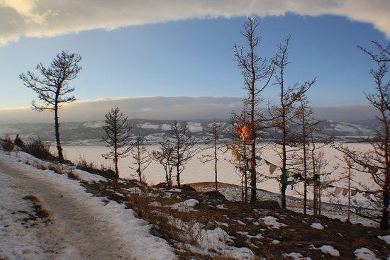 Irkutsk Oblast, Russia: Буддийская ступа