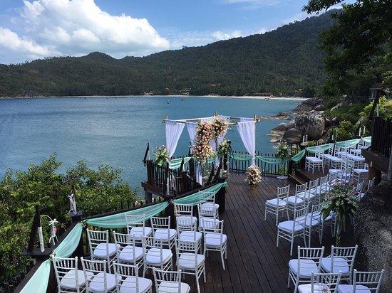Panviman Resort - Koh Pha Ngan : wedding venue