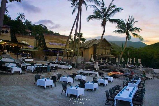 Panviman Resort - Koh Pha Ngan : Stone Beach Restaurant