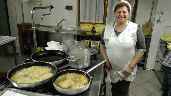 Faedo, Italy: Super cuoca
