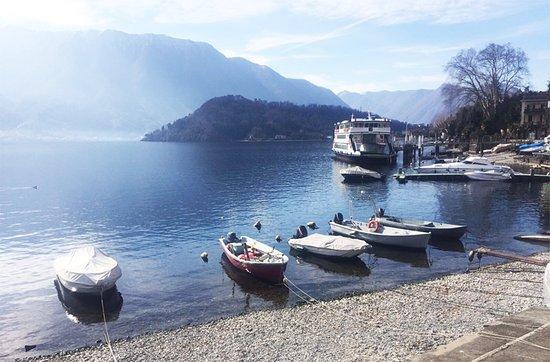 Mezzegra, Italy: Direttamente al lago