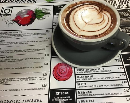 Wickham, UK: Yummy Hot Chocolate