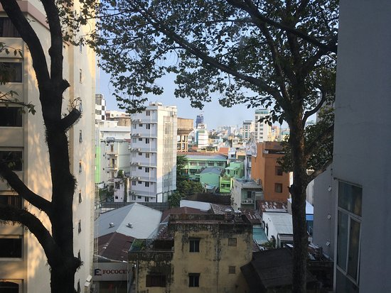EdenStar Saigon Hotel: View from room