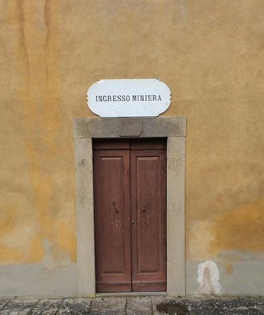 Монтекатини-Валь-ди-Чечина, Италия: ingresso alla miniera