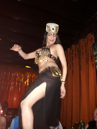 Comptoir Darna Marrakech: Belly Dancer On Our Table