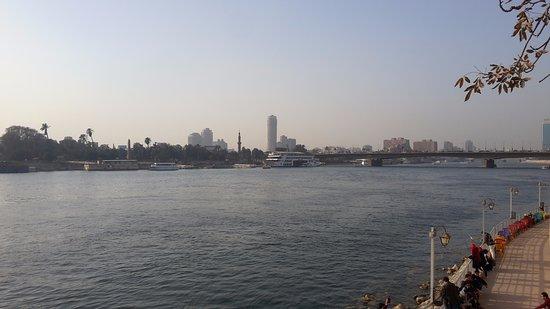 Sixth of October Bridge: view form the bridge