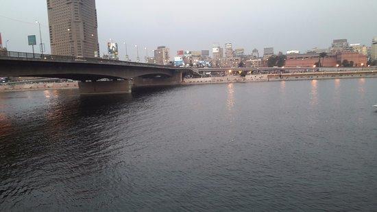 Sixth of October Bridge: the bridge