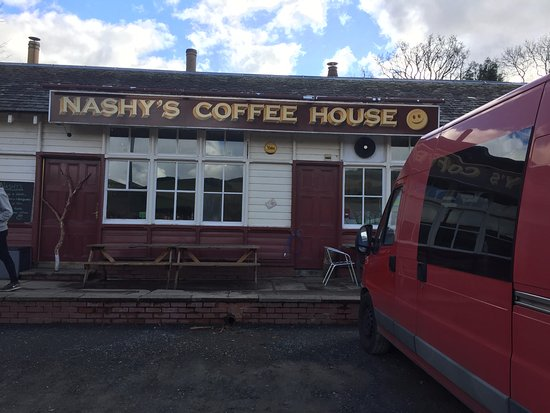 Cardrona, UK: Nashys Coffee House from the outside