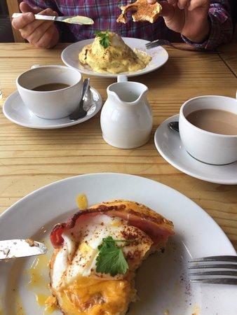 Cardrona, UK: Yummy lunch at Nashys!