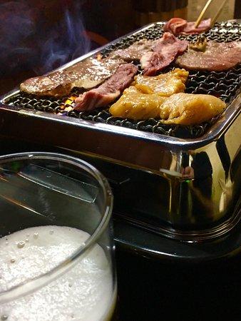 Fukagawa, Japan: 焼肉の1番店で間違いない! サイドメニューは、殆どないが肉はイチオシ! カルビ、タン、サガリ、などなど ホルモンやジンギスカンもお勧め!