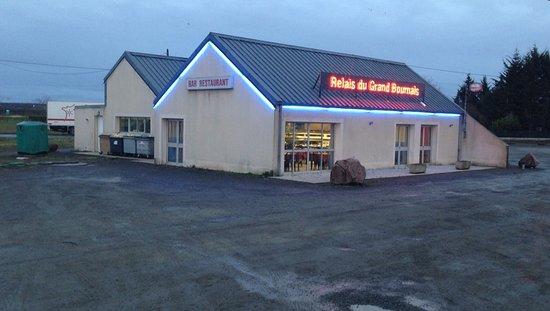 Thouars, Γαλλία: Truckers Restaurant du Grand Bournais