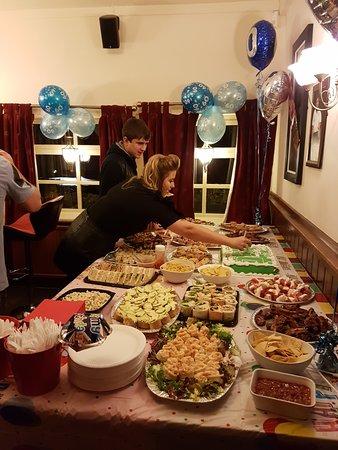 Galgate, UK: 60 th Birthday party Buffet