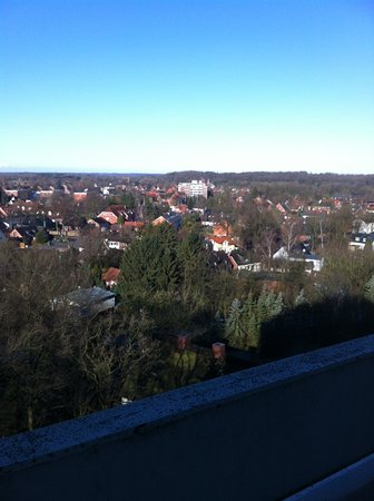 Bad Bramstedt, Germany: View from the 9th floor