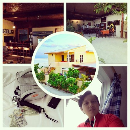 Maafushi Inn: Lobby, Meeting Points, Bed and Room