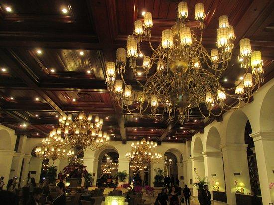 The Manila Hotel: ロビーの雰囲気は良い