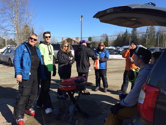 Shanty Creek Resort': Schuss Mountain Tailgating
