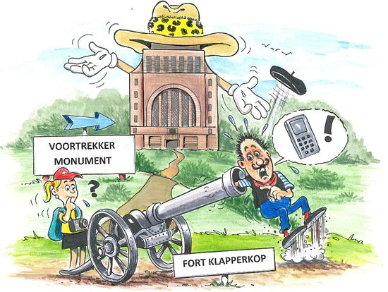 Kempton Park, Sudafrica: Voortrekker Monument | Fort Klapperkop