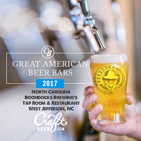 West Jefferson, Carolina do Norte: Named Best Great American Beer Bar in North Carlina