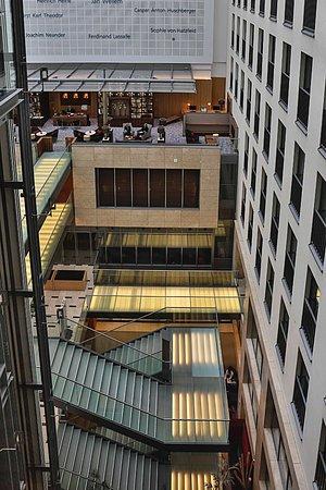 InterContinental Dusseldorf: Atrium