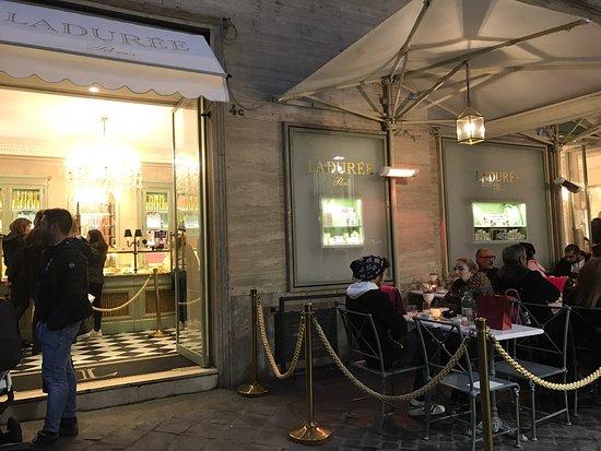 Photo of French Restaurant Laduree Roma at Via Borgognona, 4, Rome 00187, Italy