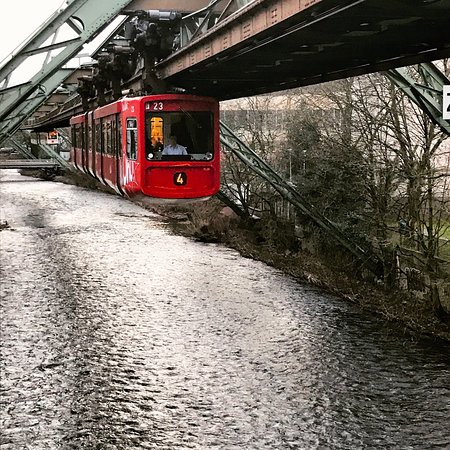 The Wuppertal Suspension Railway Photo