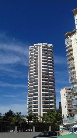 Aparthotel Esmeralda Suites: 23 storey concrete sound conductor