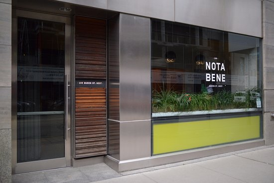Photo of Restaurant Nota Bene at 180 Queen Street W, Toronto, ON M5V 3X3, Canada