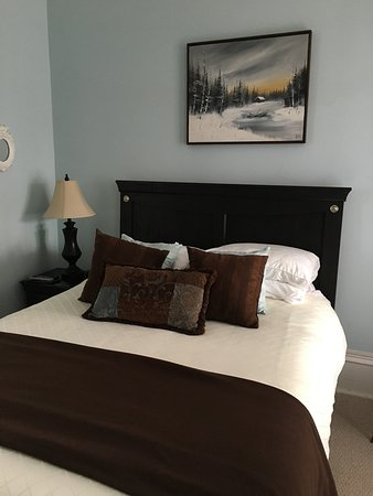 The Old Carriage House B&B: Queen size bed