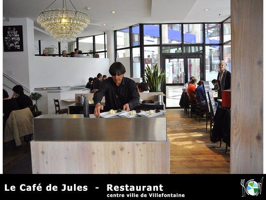 """Villefontaine, Франция:  bistrot de qualité : restaurant """"le Café de Jules"""""""