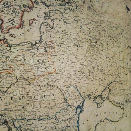 """Музей-панорама """"Бородинская битва"""": Карта России перед Войной 1812 года"""