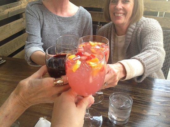 Gaetano's Restaurant: Cheers! Limoncello Sangria & wine
