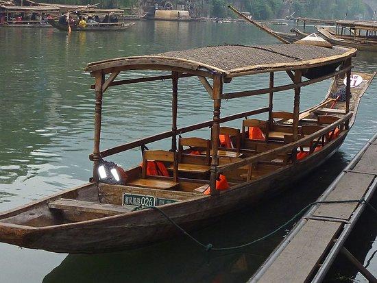 Tuojiang Ancient Street: Notre gondole