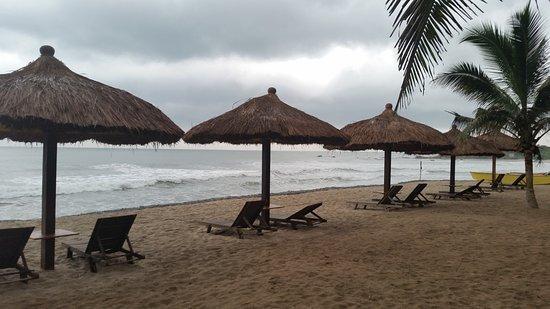 Anomabo, Ghana: Beach area