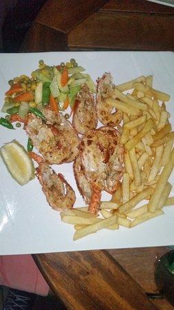 Anomabo, Gana: Fish dish