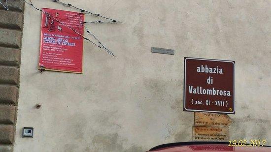 Vallombrosa, Włochy: L'entrata dell'Abbazia.