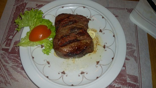 Erkrath, Tyskland: 300gr Filetsteak