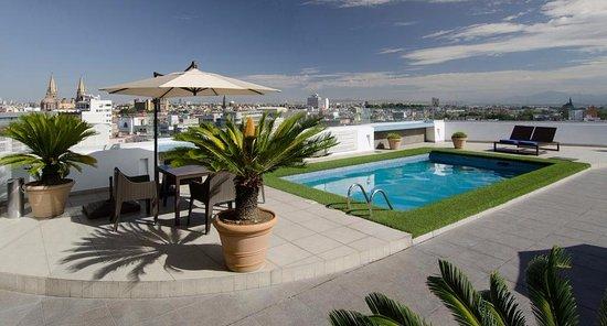 BEST WESTERN PLUS Gran Hotel Centro Historico: TERRAZA