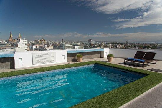 BEST WESTERN PLUS Gran Hotel Centro Historico: ALBERCA