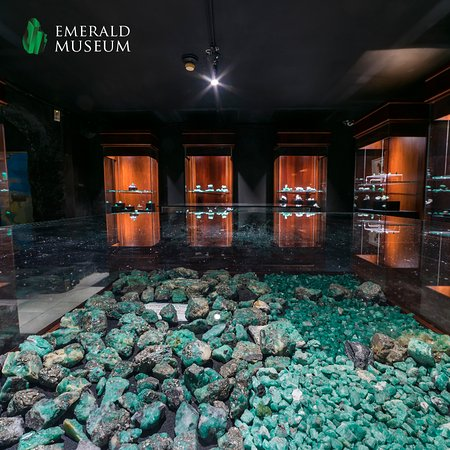 Caribe Jewelry and Emerald Museum: Emerald Museum by Caribe Jewelry